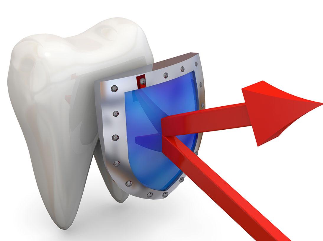 Zahnreinigung, Politur, Fluordierung